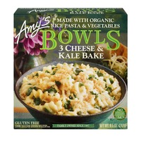 Amy's Gluten Free Three Cheese Kale Bowl