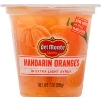 Del Monte Mandarin Oranges, in Extra Light Syrup