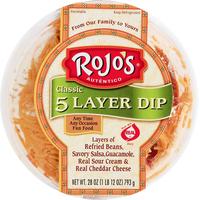 Rojos 5 Layer Dip, Classic