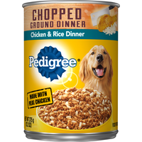 Pedigree Traditional Ground Dinner Chicken & Rice Wet Dog Food