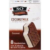 So Delicious Dairy Free Coconutmilk Coconut Dessert Sandwiches