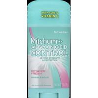Mitchum Anti-Perspirant & Deodorant, for Women, Invisible Solid, Powder Fresh