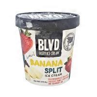 BLVD Tasty Ice Cream Banana Split Ice Cream