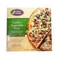 Open Nature Classic Crust Garden Vegetable Pizza