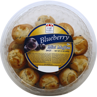 Cafe Valley Bakery Muffins, Blueberry, Mini