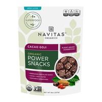 Navitas Naturals Power Snack Cacao Goji Superfood