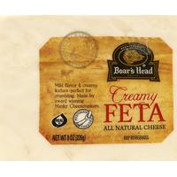 Boar's Head Cheese, All Natural, Creamy, Feta