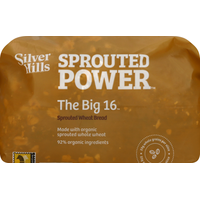 Silver Hills Bakery Bread, Wheat, Sprouted, The Big 16