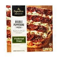 Signature Select Double Pepperoni Flatbread Crust Pizza