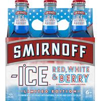 Smirnoff Malt Beverage, Premium, Red, White & berry