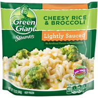 Green Giant Steamers Lightly Sauced Cheesy Rice & Broccoli Vegetables