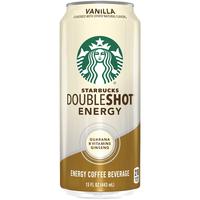 Starbucks Double Shot Energy Vanilla Fortified Energy Coffee Drink