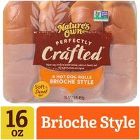 Nature's Own Brioche Style Hot Dog Rolls