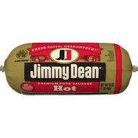 Jimmy Dean Premium Pork Hot Sausage Roll