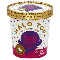 Halo Top Birthday Cake Dairy Free Frozen Dessert