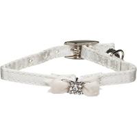 Coastal Pet Li'l Pals White Kitten Collar With Gemstone Bow & Bell