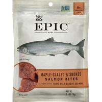 Epic Salmon Bites, Maple-Glazed & Smoked