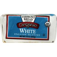 Vermont Bread English Muffins, White
