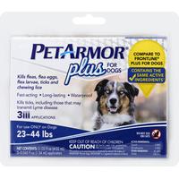PetArmor Plus For Dogs 23-44 lbs - 3 CT
