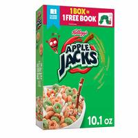 Kellogg's Apple Jacks Breakfast Cereal, 8 Vitamins and Minerals, Kids Snacks, Original
