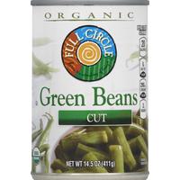 Full Circle Green Beans, Cut