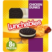Lunchables Chicken Dunks Meal Kit with Chocolate Sandwich Cookies
