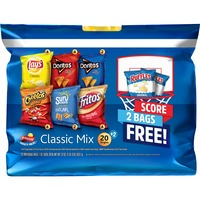 3 Frito Lay Variety Pack Fritolay Classic Mix