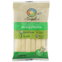 Full Circle Mozzarella Low Moisture Part Skim String Cheese