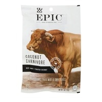 Epic Coconut Carnivore Trail Mix Beef Jerky, Toasted Coconut
