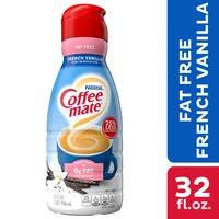 Coffee mate French Vanilla Fat Free Liquid Coffee Creamer