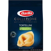 Barilla Collezione Artisanal Collection Cheese & Spinach Tortellini  Pasta