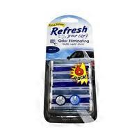 2792a96e81f Refresh Your Car Refresh Your Car Odor Eliminating Vent Sticks New ...