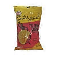 The Snack Artist Yellow Corn Tortilla Chip Rounds