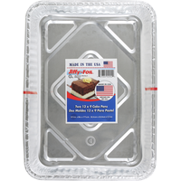 Jiffy-Foil Cake Pans, 13 x 9 Inches