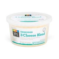 365 Shredded 3 Cheese Blend