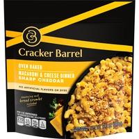 Cracker Barrel Sharp Cheddar Oven Baked Macaroni & Cheese Dinner