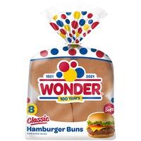 Wonder Bread Classic Hamburger Buns