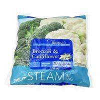 Signature Farms Steam In Bag Broccoli & Cauliflower