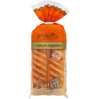St. Pierre Brioche Baguettes, Pre-Cut