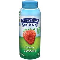 Stonyfield Organic Organic Strawberry Lowfat Yogurt Smoothie