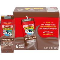 Horizon Organic Chocolate Lowfat Milk