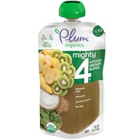 Plum Organics Blends Banana, Kiwi, Spinach, Greek Yogurt & Barley