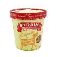 Straus Family Creamery Organic Brown Sugar Banana & Chocolate Chip Ice Cream