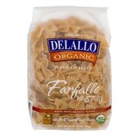 DeLallo Organic Farfalle No. 87 Whole Wheat
