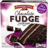 Pepperidge Farm Frozen Bakery Chocolate Fudge Layer Cake