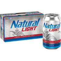 Natural Light Beer Cans