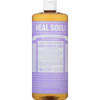 Dr. Bronner's 18-in-1 Hemp Pure-Castile Soap Lavender