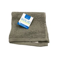 Interiors by Design Gray Washcloth Pack