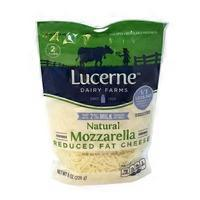 Lucerne Cheese Shredded Mozzarella Reduced Fat 2%