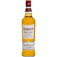 Dewars White Label Blended Scotch Whisky